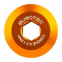 Burgtec středový šroub kliky Shimano  - Iron Bro Orange