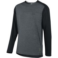 iXS dres Flow X long sleeve jersey graphit-solid black