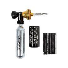 Lezyne bezdušová opravná sada Tubeless CO2 Blaster black