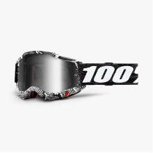 100% brýle motokrosové ACCURI 2 Goggle Cobra - Mirror Silver Lens