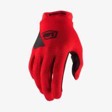 100% dětské rukavice Ridecamp Red