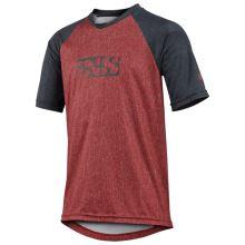 iXS Flow Kids jersey night red-black