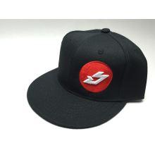 BIKESTRIKE.COM kšiltovka Logo snapback černá/červená