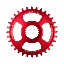 Burgtec převodník Shimano Direct Mount Thick Thin - 32T - Race Red