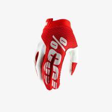 """100% rukavice """"iTRACK"""" Red/White"""