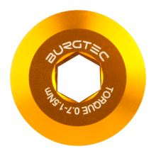 Burgtec středový šroub kliky Shimano  - Burgtec Bullion Gold