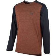 iXS dres Flow X long sleeve jersey burnt orange-solid black