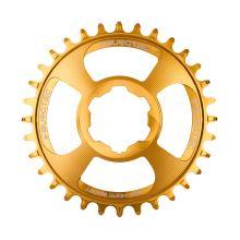 Burgtec převodník Hope Boost Direct Mount Thick Thin - 28T - Burgtec Bullion Gold