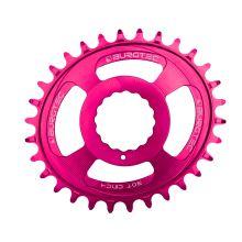 Burgtec převodník Oval Cinch Thick Thin - 32T - Toxic Barbie Pink