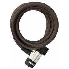 MAX1 zámek spirala 180x1,2cm 4 klíče