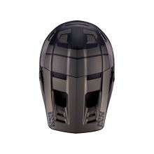 IXS náhradní kšilt + šroubky XULT černý-stříbrný