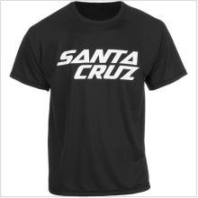 Santa Cruz dres krátký rukáv black/white vel.M