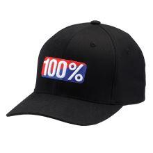 100% kšiltovka OG flexfit černá