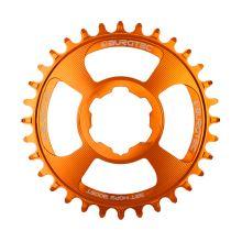 Burgtec převodník Hope Boost Direct Mount Thick Thin - 30T - Iron Bro Orange