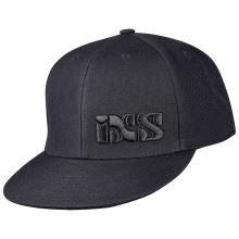 iXS kšiltovka Basic black OS