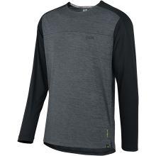 iXS dětský dres Flow X Kids long sleeve jersey graphite-solid black