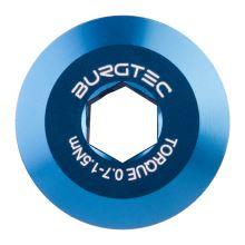 Burgtec středový šroub kliky Shimano  - Deep Blue