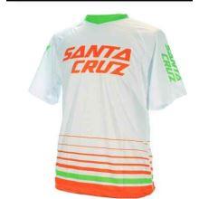 Santa Cruz dres white/green/orange vel.M