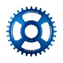 Burgtec převodník Shimano Direct Mount Thick Thin - 30T - Deep Blue
