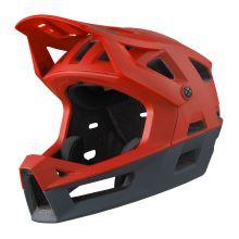 iXS integrální helma Trigger FF fluo red