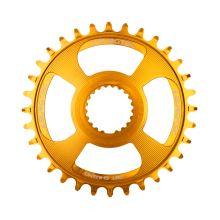 Burgtec převodník Shimano Direct Mount Thick Thin - 28T - Burgtec Bullion Gold