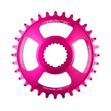 Burgtec převodník Shimano Direct Mount Thick Thin - 28T - Toxic Barbie Pink