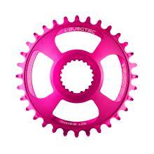 Burgtec převodník Shimano Direct Mount Thick Thin - 30T - Toxic Barbie Pink