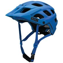 iXS helma enduro Trail RS EVO fluor modrá