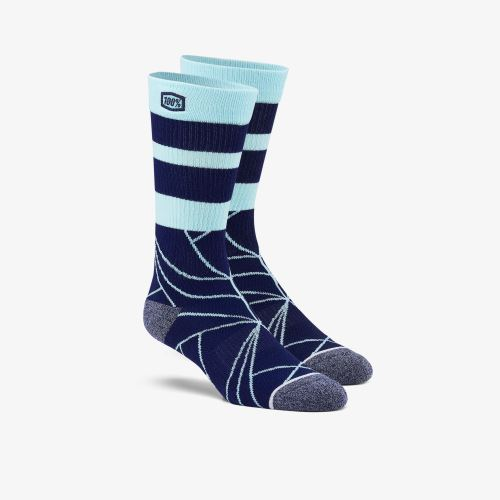 """100% ponožky """"FRACTURE"""" Athletic Navy"""