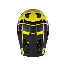 IXS náhradní kšilt + šroubky XULT černý-žlutý