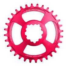 Burgtec převodník GXP Boost 3mm Offset Thick Thin - 34T - Toxic Barbie Pink
