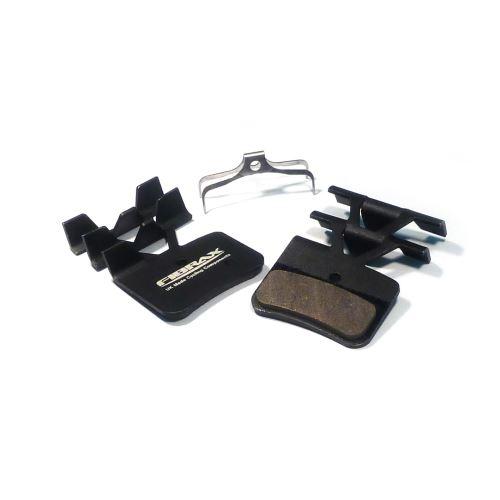 Fibrax brzdové destičky Semi Metallic - Shimano Saint M810 (4P)