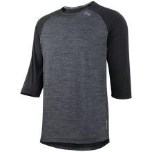 iXS dres Carve X jersey black-solid black