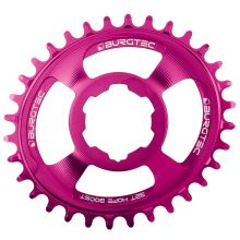 Burgtec převodník Oval Hope Boost Direct Mount Thick Thin - 32T - Toxic Barbie Pink