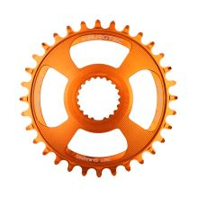 Burgtec převodník Shimano Direct Mount Thick Thin - 32T - Iron Bro Orange
