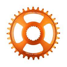 Burgtec převodník Shimano Direct Mount Thick Thin - 34T - Iron Bro Orange