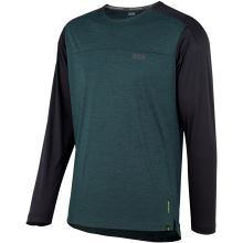 iXS dres Flow X long sleeve jersey everglade-solid black