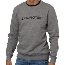 Burgtec svetr Grey Logo  -Medium