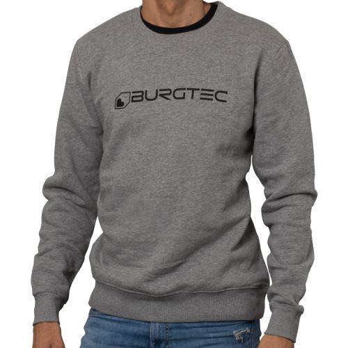 Burgtec svetr Grey Logo