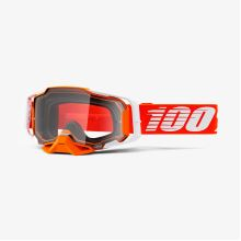 100% brýle motokrosové Armega Goggle Regal - Clear Lens