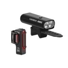 Lezyne sada světel Lite Drive 1000XL/ Strip Pro Pair blk/hi gloss