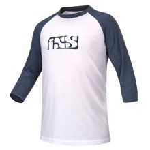 iXS triko Brand Logo 3/4 rukáv white-night blue