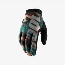 """100% dětské rukavice """"BRISKER"""" Camo/Black"""