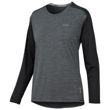 iXS dámský dres Flow X Women long sleeve jersey graphite-solid black