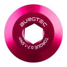 Burgtec středový šroub kliky Shimano  - Toxic Barbie Pink