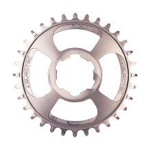 Burgtec převodník Hope Boost Direct Mount Thick Thin - 28T - Rhodium Silver