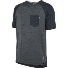 iXS dětský dres Flow X kids jersey graphite-black