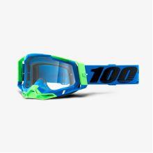 100% brýle motokrosové RACECRAFT 2 Goggle Fremont - Clear Lens
