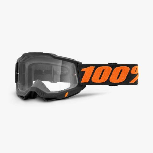 100% brýle motokrosové ACCURI 2 Goggle Chicago - Clear Lens