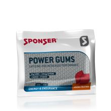 Sponser Power Gum Caffeine - Fruitmix